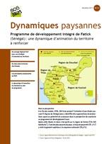 Programme de développement intégré de Fatick (Sénégal): une dynamique d'animation du territoire à renforcer