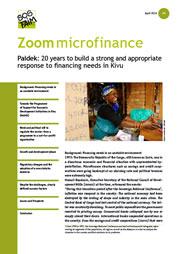 Le Paidek: 20 ans pour construire une réponse solide et adaptée aux besoins de financement des acteurs économiques du Kivu