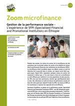 Gestion de la performance sociale – L'expérience de SFPI (Specialized Financial and Promotional Institution) en éthiopie