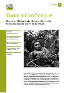 En Bolivie et au Pérou, une microfinance de plus en plus verte : tendance lourde ou effet de mode ?