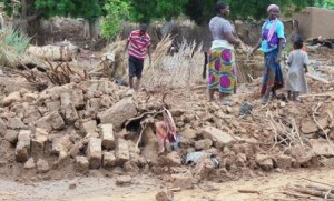 En direct du Niger : graves inondations