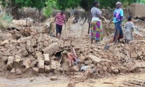 En direct du Niger: graves inondations