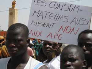 En direct d'Afrique de l'Ouest: les APE, une catastrophe