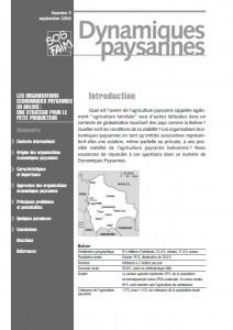 Les organisations économiques paysannes en Bolivie: une stratégie pour le petit producteur