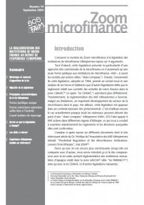 La réglementation des institutions de microfinance au départ de l'expérience Éthiopienne
