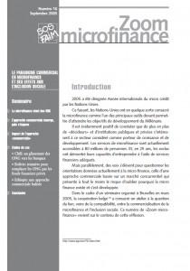 Le paradigme commercial en microfinance et ses effets sur l'inclusion sociale