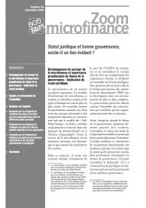 Statut juridique et bonne gouvernance, existe-il un lien évident ?