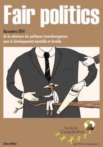 Publication du 2ème baromètre FairPolitics sur la cohérence des politiques luxembourgeoises pour un développement équitable et durable