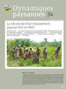 La nécessité d'un mouvement paysan fort en RDC