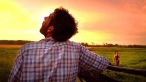 Projection du film «To make a farm»