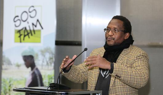 SOS Faim – Conférence d'Ibrahima Coulibaly