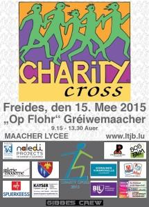 SOS Faim parmi les bénéficiaires du 15e Charity Cross
