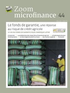 Le fonds de garantie, une réponse au risque de crédit agricole