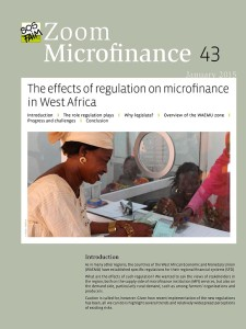 The effects of regulation on microfinance in West Africa