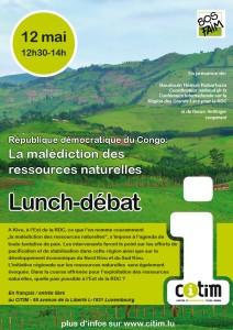 Lunch-débat – République démocratique du Congo: La malédiction des ressources naturelles