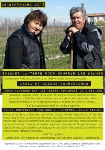 Soigner la planète pour nourrir les sols – conférence du célèbre couple de microbiologistes, Lydia et Claude Bourguignon