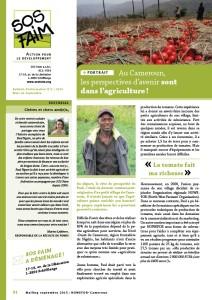 Portrait: Au Cameroun, les perspectives d'avenir sont dans l'agriculture !