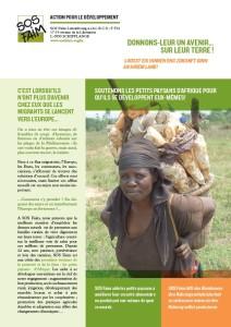 Soutenons les petits paysans d'Afrique pour qu'ils se développent eux-mêmes!