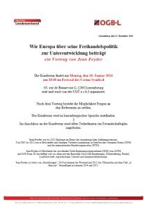Vortrag: Wie Europa über seine Freihandelspolitik  zur Unterentwicklung beiträgt