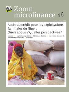 Accès au crédit pour les exploitations familiales du Niger:Quels acquis ? Quelles perspectives ?