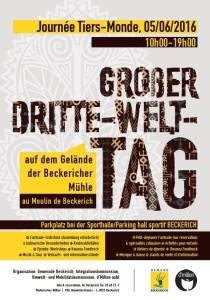 Groβer Dritte-Welt-Tag in der Beckericher Mühle