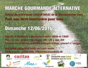 Marche gourmande alternative…