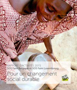 Rapport d'activités 2015: Pour un changement social durable