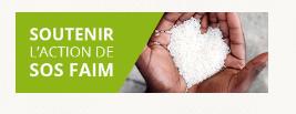 soutenir l'action de SOS Faim