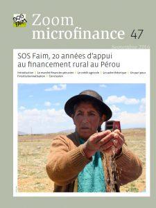 SOS Faim, 20 années d'appui au financement rural au Pérou