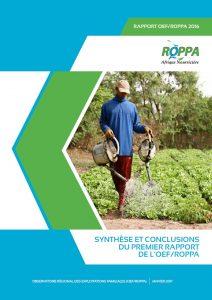 1er rapport régional de l'observatoire des Exploitations Familiales du ROPPA