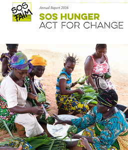 Annual report 2016: SOS Hunger acts for change !