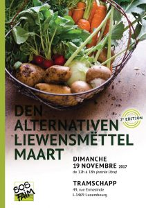 Den alternativen Liewensmëttel Maart – 2e édition