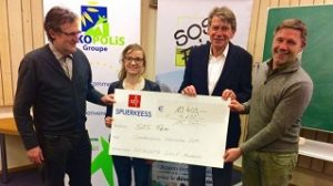 Naturata collecte 15.000 € au profit de SOS FAIM !