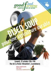 27/10 Disco soup fir eng nohalteg Landwirtschaft