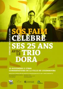25/11 concert de gala 25 ans avec le Trio Dora