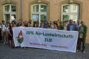 Piquet pour l'agriculture biologique