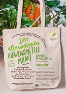 17/11 Den alternativen Liewensmëttel Maart – 4e édition