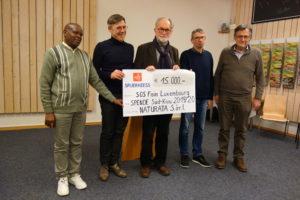 NATURATA fait don à SOS Faim: 15.000 € en faveur des paysans du Sud-Kivu
