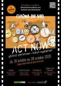 [Agenda] Le Cinéma du Sud sera de retour en ce mois d'octobre !