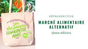 Un public nombreux au rendez-vous de la 5ème édition du marché des Alternatives – Alternativen Liewensmettel Maart