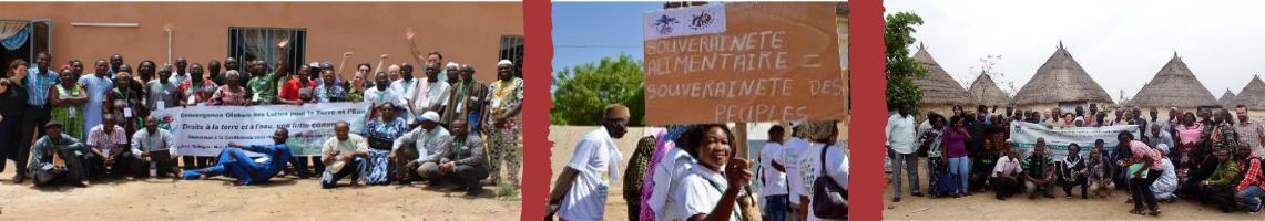 Convergence Globale des Luttes pour la Terre et l'Eau en Afrique de l'Ouest (CGLTE-AO )