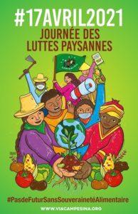 SOS Faim soutient LA VIA CAMPESINA à l'occasion de la journée internationale des luttes paysannes.
