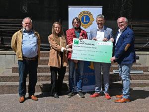 Le Lions Club Mameranus soutient SOS Faim !