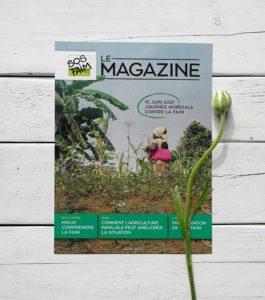 SOS Faim sort son premier magazine à l'occasion de la Journée Mondiale contre la faim.