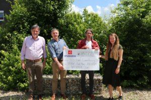 Naturata : un nouveau don de 15.000 € pour SOS Faim